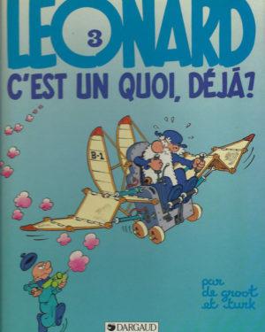 Léonard, tome 3: Léonard c'est un quoi, déjà?