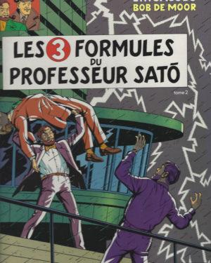 Les aventures de Blake et Mortimer: Les 3 formules du Professeur Sato