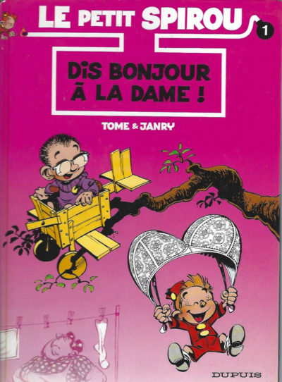 Le Petit Spirou, tome 1: Dis bonjour à la dame!